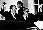 38th President Gerald R. Ford and  41st Vice President Nelson Rockefeller at White House,