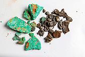 Minerai de Nouvelle-Caédonie : Garniérite et grenaille
