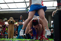 Inmates celebrate in their day a beauty contest