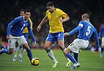 Fussball international, Testspiel, Brasilien - Italien