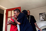 Rappers No Soda, Doc Holiday and videographer Jo Gotti in The Trap House, a recording studio in Memphis, Tennessee October 14, 2011. .