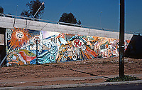 San Diego: Chicano Park Murals.  Photo '77.