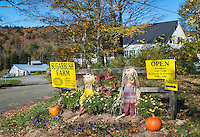 Entrance to Sugarbush Farm, Woodstock, Vermont, USA