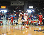 "Ole Miss' LaDarius White (10) vs. Rutgers at the C.M. ""Tad"" Smith Coliseum in Oxford, Miss. on Saturday, December 1, 2012. (AP Photo/Oxford Eagle, Bruce Newman).."