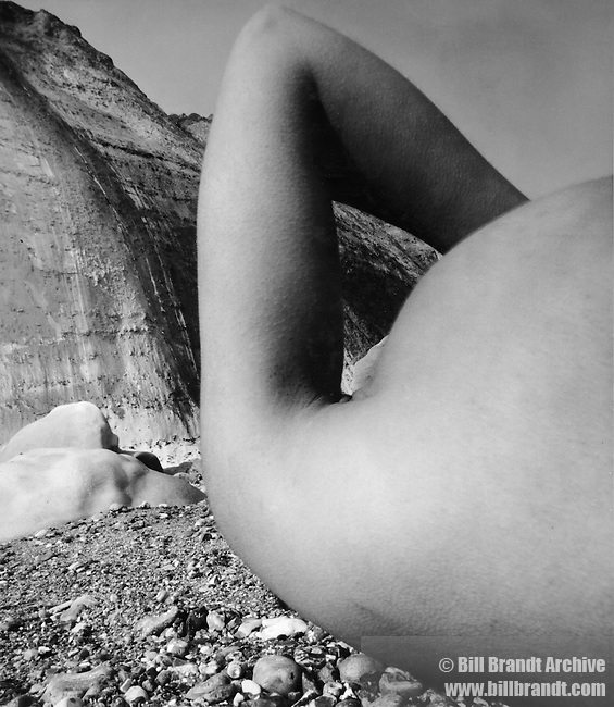 Nude, Vasterival Beach, Normandy.1957, May