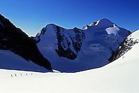 Glacier de Tré-la-Tête, Mont-Blanc Massif, France, 2011.