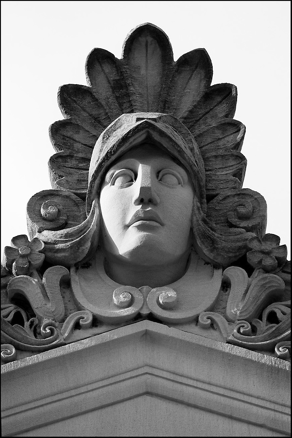 Memphis Tennessee - courthouse architectural detail
