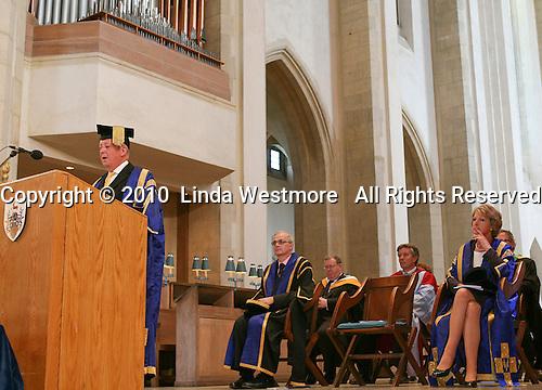 degree ceremony, University of Surrey.