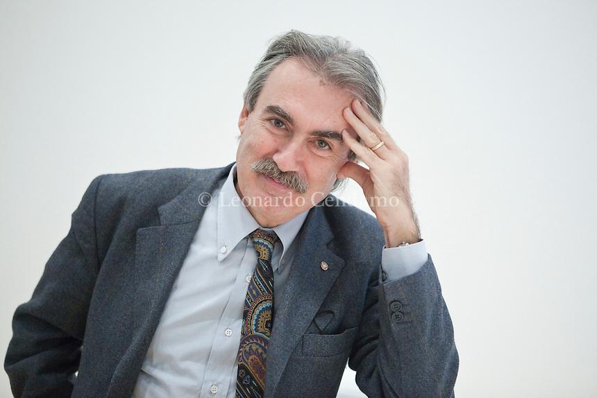 FABRIZIO BATTISTELLI WRITER PROFESSORE DI SOCIOLOGIA, UNIVERSITA\' LA SAPIENZA, ROMA, BLACKARCHIVES . © Leonardo Cendamo