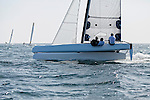 Diam 24 One Design, light, sporty, powerful, winged and designed to race with three or four people on board. The Diam 24OD is fast in light winds and confident in stronger breeze without the necessity for high level sporting prowess. The Diam 24 the new boat for the Tour de France &agrave; la Voile 2015.<br /> PRB, Skipper Vincent Riou