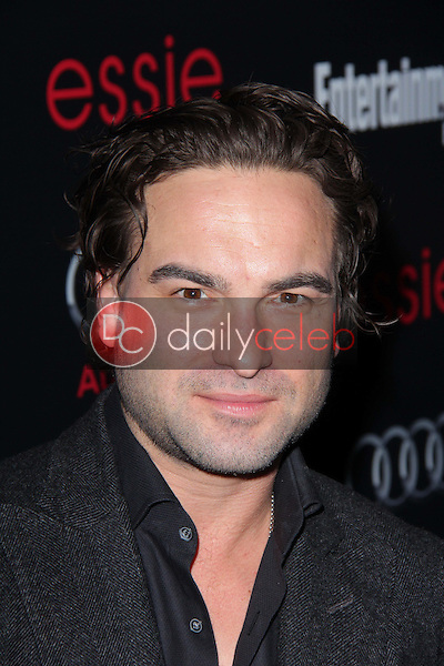 Johnny Galecki<br /> at the Entertainment Weekly Pre-SAG Party, Chateau Marmont, West Hollywood, CA 01-26-13<br /> David Edwards/DailyCeleb.com 818-249-4998