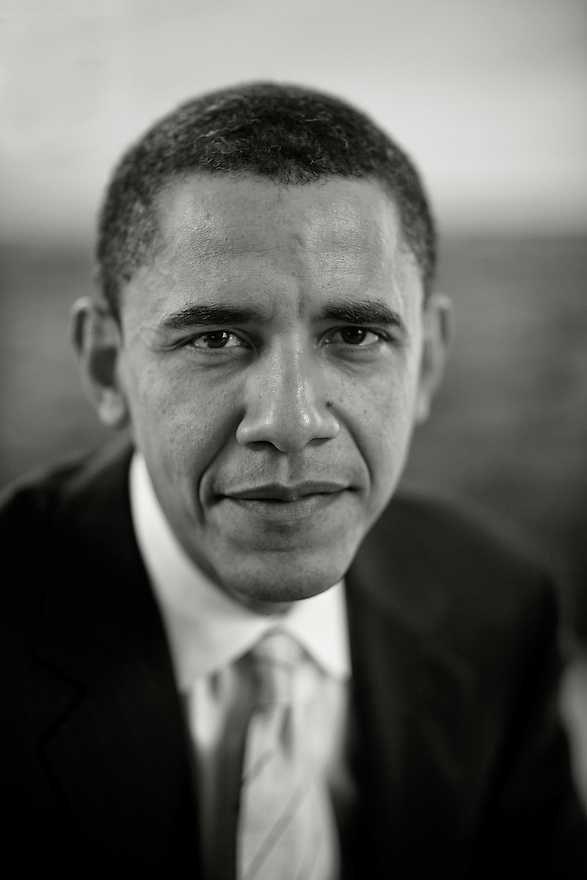 Democratic Presidential candidate Senator Barack Obama in his  office on Capitol Hill in Washington, DC, February 28, 2007..Photo by Brooks Kraft/Corbis......