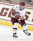 Chris Kreider (BC - 19) - The Boston College Eagles defeated the visiting University of Toronto Varsity Blues 8-0 in an exhibition game on Sunday afternoon, October 3, 2010, at Conte Forum in Chestnut Hill, MA.