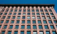 Louis Sullivan: Guaranty Bldg. Facade.  Photo '88.