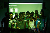 Students at the 'Ruby for Girls' programming class, iLab
