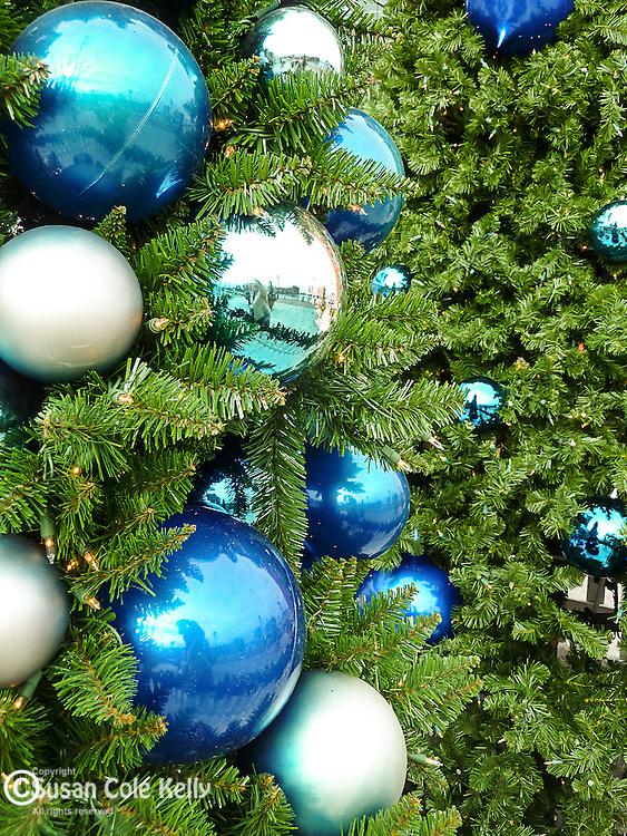 Christmas ornaments in Boston, MA, USA