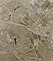 historical aerial photograph Irvine, California, 1994