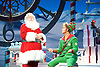 Elf <br /> by Thomas Meehan and Bob Martin <br /> at the Dominion Theatre, London, Great Britain <br /> press photocall <br /> 2nd November 2015 <br /> Mark McKerracher as Santa <br /> Ben Forster as Buddy <br /> <br /> <br /> Photograph by Elliott Franks <br /> Image licensed to Elliott Franks Photography Services