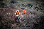 Keith and Larry Benson hunting mule deer outside Springfield, Colo. on the flatland Oklahoma border.