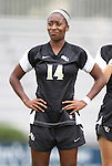 18 September 2011: Florida State's Tiffany McCarty. The Duke University Blue Devils defeated the Florida State University Seminoles 2-1 at Koskinen Stadium in Durham, North Carolina in an NCAA Division I Women's Soccer game.