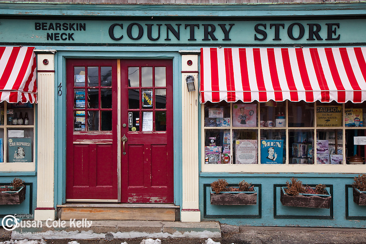 Bearskin Neck Country Store in Rockport, Cape Ann, MA, USA