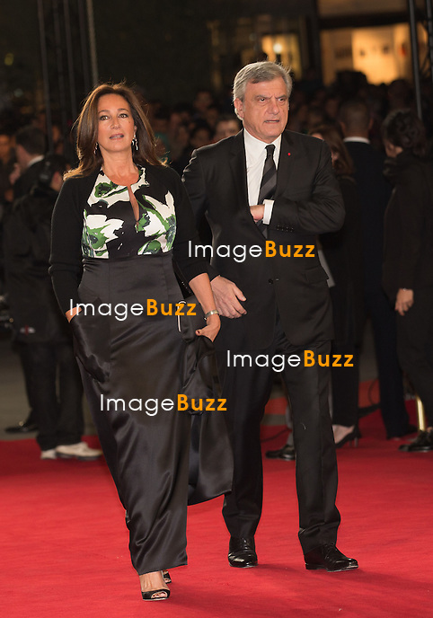 Guest arrives on the red carpet for the evening tribute to Viggo Mortensen during the 14th Marrakech International Film Festival on December 7, 2014 in Marrakech, Morocco.