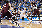 UK guard, Jamal Murray, tries to shake a defender in their game against Miss. St. at Rupp Arena in Lexington, Ky. on Tuesday,January 12, 2016. Photo by Josh Mott | Staff.