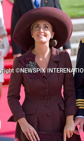 """PRINCESS CLAIRE OF BELGIUM.Religious Wedding Ceremony of HRH the Hereditary Grand Duke and Countess Stéphanie de Lannoy at Cathedral of Our lady of Luxembourg, Luxembourg_20-10-2012.Mandatory credit photo: ©Dias/NEWSPIX INTERNATIONAL..(Failure to credit will incur a surcharge of 100% of reproduction fees)..                **ALL FEES PAYABLE TO: """"NEWSPIX INTERNATIONAL""""**..IMMEDIATE CONFIRMATION OF USAGE REQUIRED:.Newspix International, 31 Chinnery Hill, Bishop's Stortford, ENGLAND CM23 3PS.Tel:+441279 324672  ; Fax: +441279656877.Mobile:  07775681153.e-mail: info@newspixinternational.co.uk"""