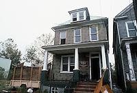 1985 November ..Redevelopment.Huntersville 1&2 (R-70)..863 B AVENUE.BEFORE...NEG#.NRHA#..