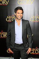 "LOS ANGELES - MAY 31:  Jordi Vilasuso arriving at the ""For Greater Glory"" Premiere at AMPAS Theater on May 31, 2012 in Beverly Hills, CA"