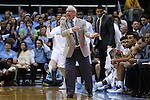 16 December 2015: UNC head coach Roy Williams. The University of North Carolina Tar Heels hosted the Tulane University Green Wave at the Dean E. Smith Center in Chapel Hill, North Carolina in a 2015-16 NCAA Division I Men's Basketball game. UNC won the game 96-72.