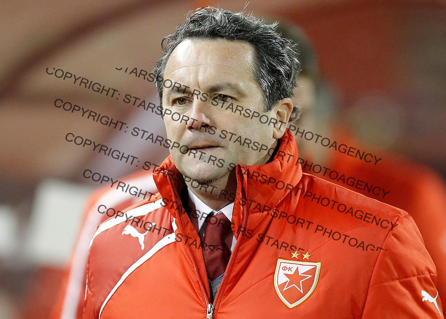 Fudbal Jelen Super liga season 2013-2014<br /> Crvena Zvezda v Vojvodina<br /> Head coach Slavisa Stojanovic<br /> Beograd, 07.12.2013.<br /> foto: Srdjan Stevanovic/Starsportphoto &copy;