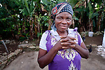Cebonet Alcide lives in Despagne, an isolated village in southern Haiti where the Lutheran World Federation has been working with residents to improve their quality of life.