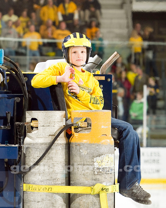 The University of Michigan ice hockey team beat Western Michigan 5-2 at Yost Arena in Ann Arbor, Mich., on November 5, 2011.