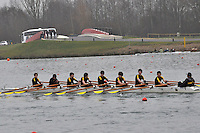 214 HamptonSchBC J14A.8x+..Marlow Regatta Committee Thames Valley Trial Head. 1900m at Dorney Lake/Eton College Rowing Centre, Dorney, Buckinghamshire. Sunday 29 January 2012. Run over three divisions.