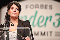 Monica Lewinsky at Forbes Under 30 Summit