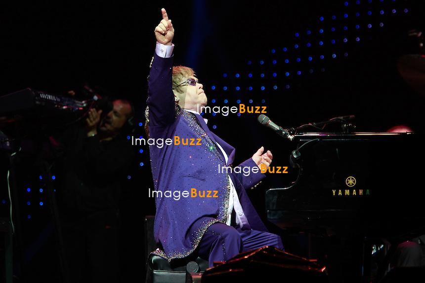 Elton John in concert in Nice at Palais Nikaia..France - Nice, June 22, 2012.