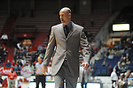 "Ole Miss coach Andy Kennedy vs. Arkansas Little Rock at the C.M. ""Tad"" Smith Coliseum in Oxford, Miss. on Friday, November 16, 2012. Ole Miss won 92-52."