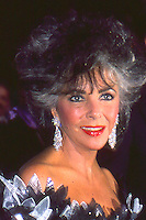 Elizabeth Taylor 1987 NYC By Jonathan Green