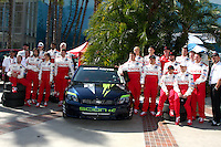 2009 Pro/Celeb Race Participants at the  Toyota Pro/Celeb Race Day on April 18 ,2009 at the Long Beach Grand Prix course in Long Beach, California..&copy;2009 Kathy Hutchins / Hutchins Photo....                .