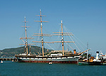 California, San Francisco: Balclutha, largest historic ship in the Hyde Street Pier collection.Photo #: 13-casanf78215.Photo © Lee Foster 2008
