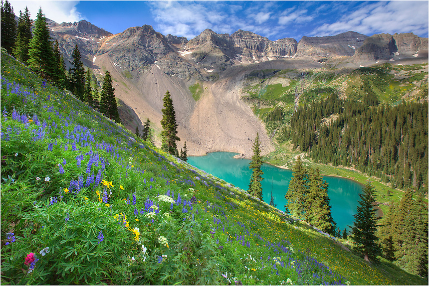 The hike to the Blue Lakes just outside Ouray, Colorado ... 10 Most Beautiful Places In The World That Actually Exist
