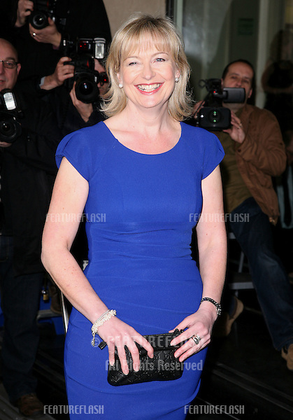 Carol Kirkwood arriving for the TRIC Awards 2012, at the Grosvenor House Hotel, London. 13/03/2012 Picture by: Alexandra Glen / Featureflash