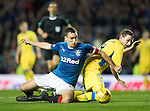 Rangers v St Johnstone&hellip;26.10.16..  Ibrox   SPFL<br />Lee Wallace and Blair Alston<br />Picture by Graeme Hart.<br />Copyright Perthshire Picture Agency<br />Tel: 01738 623350  Mobile: 07990 594431