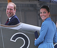 Kate, Duchess of Cambridge & Prince William visit Omaka Heritage Aviation Centre - New Zealand