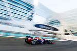 Mark Webber of Australia and Infiniti Red Bull Racing drives during the Abu Dhabi Formula One Grand Prix 2013 at the Yas Marina Circuit on November 3, 2013 in Abu Dhabi, United Arab Emirates. Photo by Victor Fraile / The Power of Sport Images