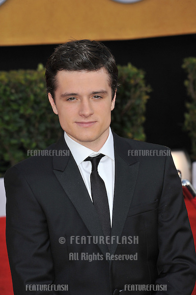 Josh Hutcherson at the 17th Annual Screen Actors Guild Awards at the Shrine Auditorium..January 30, 2011  Los Angeles, CA.Picture: Paul Smith / Featureflash.January 30, 2011  Los Angeles, CA.Picture: Paul Smith / Featureflash