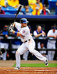 11 March 2010: New York Mets third baseman David Wright in action during a Spring Training game against the Boston Red Sox at Tradition Field in Port St. Lucie, Florida. The Red Sox defeated the Mets 8-2 in Grapefruit League action. Mandatory Credit: Ed Wolfstein Photo