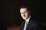 PARIS, FRANCE. NOVEMBER 2, 2010. Christophe Eck, Managing Director at Gide Loyrette Nouel, a law firm. (photo: Antoine Doyen)