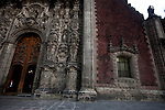 The cathederal in Mexico City has sunk over a dozen feet since it was built as has much of the city, espcially in the poorer sourthern regions.